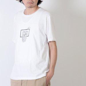 YAECA (ヤエカ) Ken Kagami PRINT TEE-garbage- / ケンカガミ プリントTシャツ ガーベージ