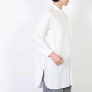 YAECA (ヤエカ) WRITE STAND COLLAR SHITS / ライトスタンドカラーシャツ