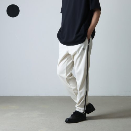 South2 West8 (サウスツーウエストエイト) String Slack Pant - Cotton Cloth / Splashed Pattern / ストリングスラックパンツ