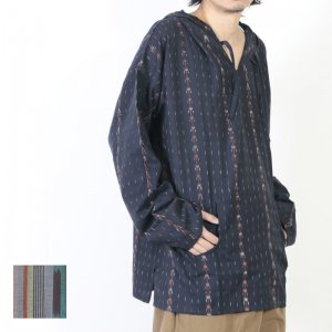 South2 West8 (サウスツーウエストエイト) Mexican Parka - Cotton Cloth / Splashed Pattern / メキシカンパーカー