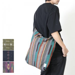 South2 West8 (サウスツーウエストエイト) Grocery Bag - Cotton Cloth / Splashed Pattern / グロサリーバッグ
