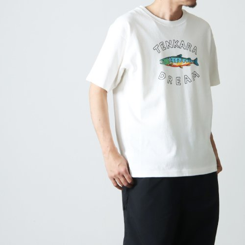 WOOLRICH (ウールリッチ) C/N ROUND BODY PRINT �TEE / クルーネックラウンドボディプリントTシャツ