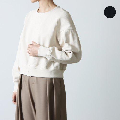 unfil (アンフィル) instarsia jacquard jersey Tshirt dress / ジャガードジャージーTシャツドレス