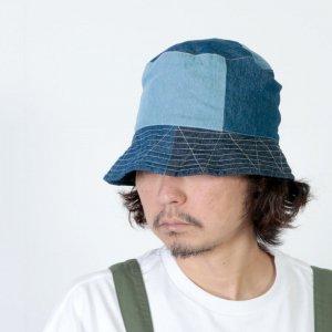 ENGINEERED GARMENTS (エンジニアードガーメンツ) Bucket Hat - Washed 8oz Denim / バケットハット