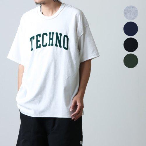 is-ness (イズネス) PATCHWORK CHECK SHORT SLEEVES SHIRT / パッチワークチェック ショートスリーブシャツ