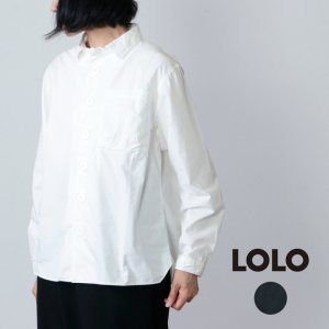 LOLO (ロロ) デカボタンシャツ size:S
