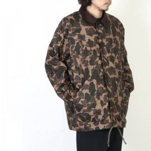 South2 West8 (サウスツーウエストエイト) Waxed Cotton Coach Jacket - Camouflage / ワックスコットンコーチジャケット