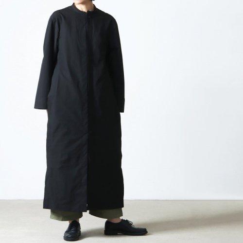 THE HINOKI (ザ ヒノキ) コットンボイルパラシュートクロス カラーレスドレス