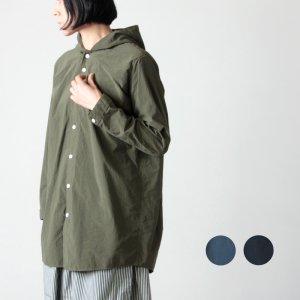 NO CONTROL AIR (ノーコントロールエアー) ナイロンタッサー ガーメントダイ フードシャツ