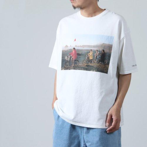 CAL O LINE (キャルオーライン) KINGSTON MAP T-SHIRT / キングストンマップTシャツ