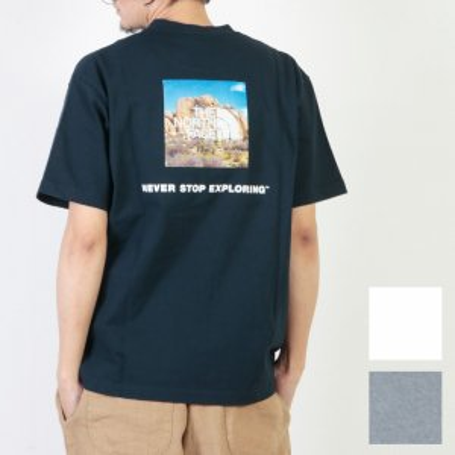 THE NORTH FACE (ザノースフェイス) S/S Square Logo Joshua Tree Tee / ショートスリーブスクエアロゴジョシュアツリーTシャツ