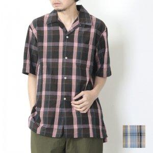 KAPTAIN SUNSHINE (キャプテンサンシャイン) Open Collar S/S Shirt / オープンカラーショートスリーブシャツ