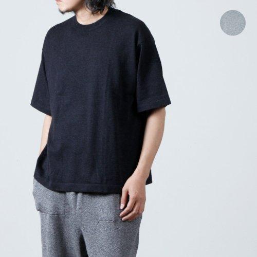 crepuscule (クレプスキュール) Wholegarment S/S Knit / ホールガーメント ショートスリーブニット
