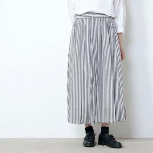 yangany (ヤンガニー) ストライプロングスカート