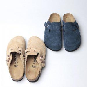 Birkenstock (ビルケンシュトック) BOSTON Suede Leather For Women / ボストン スウェード レディース