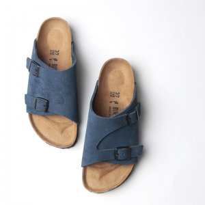 Birkenstock (ビルケンシュトック) ZURICH Sueade Leather BLUE / チューリッヒ スウェード ブルー