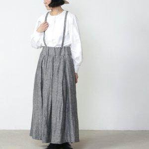 si-si-si (スースースー) リネンヘリンボーン ハンギングスカート
