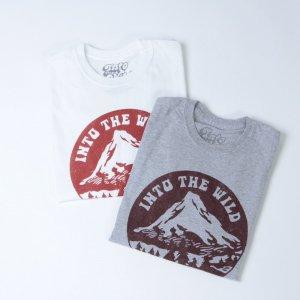 Into The Wild (イントゥ ザ ワイルド) MOUNTAIN TEE / マウンテン Tシャツ
