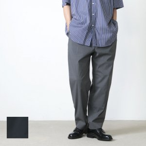 A VONTADE (ア ボンタージ) 1 Tuck Wide Easy Trousers / 1タックワイドイージートラウザース