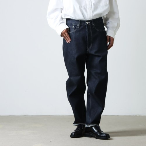 Graphpaper (グラフペーパー) COTTON TWILL Cook Pants / コットンツイル コックパンツ