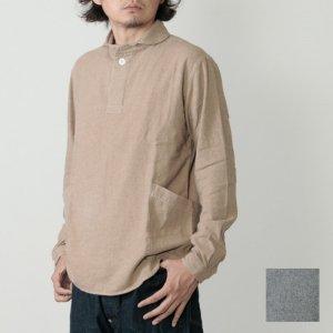 LOLO (ロロ) 定番プルオーバー型 ビエラ起毛シャツ