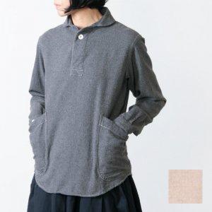LOLO (ロロ) 定番プルオーバー型 ビエラ起毛シャツ size:S