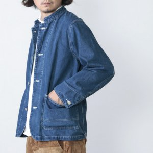 Ordinary Fits (オーディナリーフィッツ) DENIM COVERALL 1st used / デニムカバーオール1st ユーズド