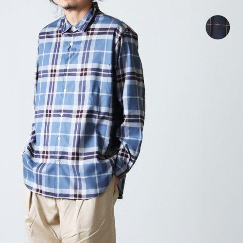 WELLDER (ウェルダー) WELLDER Button-Down Standard Shirt Stripe / ウェルダー ボタンダウンスタンダードシャツ ストライプ