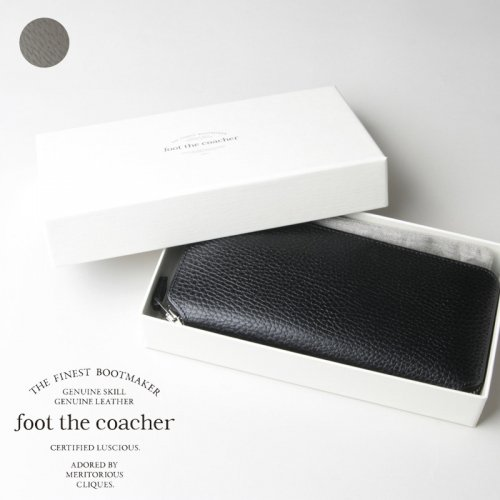 foot the coacher (フットザコーチャー) LONG ZIP WALLET