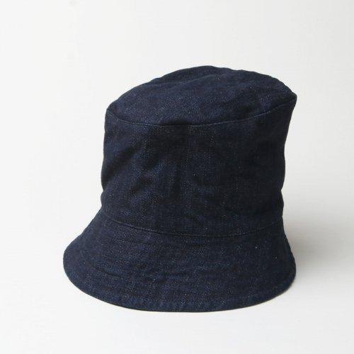 ENGINEERED GARMENTS (エンジニアードガーメンツ) Bucket Hat -Indigo 10oz Broken Denim / バケットハット