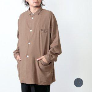 LOLO (ロロ) 起毛コットン シャツジャケット