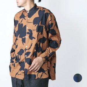 WELLDER (ウェルダー) Band Collar Shirt / バンドカラーシャツ