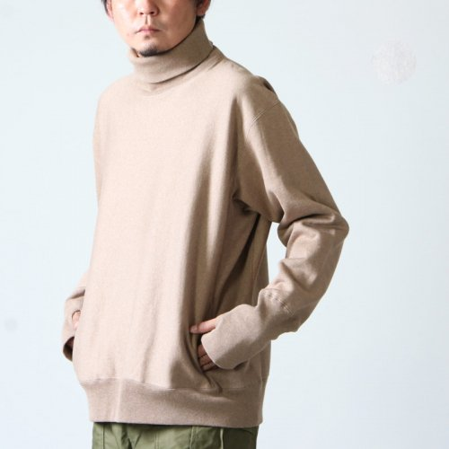 [THANK SOLD] A VONTADE (ア ボンタージ) 26/2 BD Turtle Neck Sweat / タートルネックスウェット