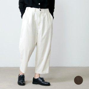 style + confort (スティールエコンフォール) 21Wコーデュロイ ワイドパンツ