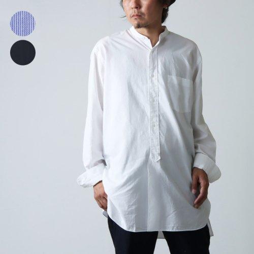 COMOLI (コモリ) バンドカラーシャツ