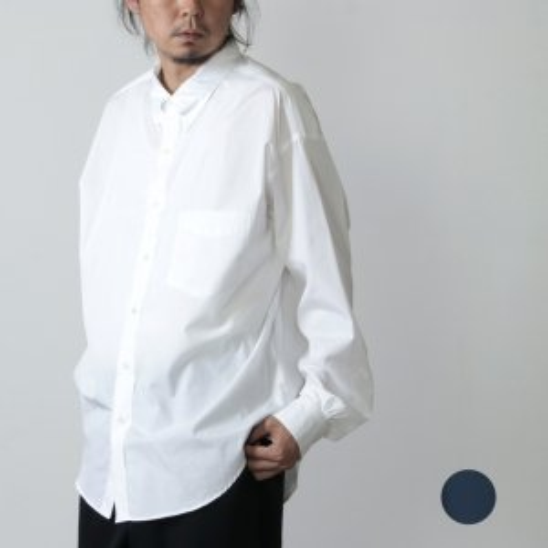 Graphpaper (グラフペーパー) THOMAS MASON L/S B.D Box Shirt Broad / ロングスリーブボタンダウンボックスシャツ ブロード