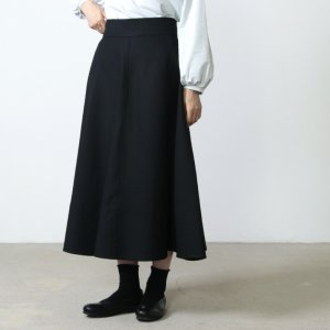 [THANK SOLD] Graphpaper (グラフペーパー) Double Cloth Peach Flaire Skirt / ダブルクロスピーチフレアスカート