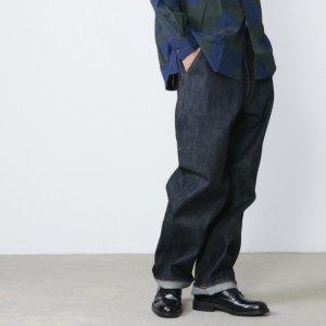 BIG MAC (ビッグマック) ×Ordinary Fits DENIM STRAIGHT PANTS one wash / デニムストレートパンツ ワンウォッシュ
