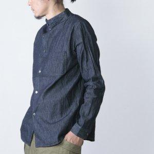 nisica (ニシカ) デニムガンジーシャツ