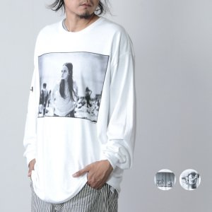 OTHER BRAND (アザーブランド) Joseph Szabo / フォトプリント ロングスリーブTシャツ
