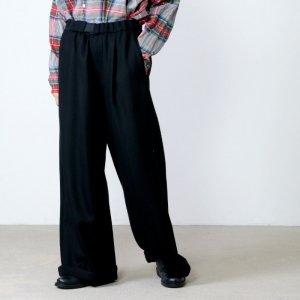 Graphpaper (グラフペーパー) Herringbone Wide Cook Pants / ヘリンボーンワイドコックパンツ