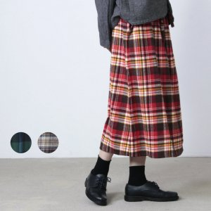 South2 West8 (サウスツーウエストエイト) String Skirt - Cotton Twill / Plaid / ストリングスカート