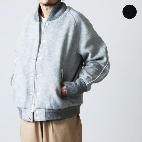 is-ness (イズネス) COJ DUCK FOODED JACKET / シティオジサン ダックフーデッドジャケット