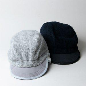 and wander (アンドワンダー) wool pile boa cap / ウールパイルボアキャップ