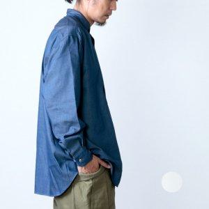 [THANK SOLD] FUJITO (フジト) B/S Stand Collar Shirt / ビッグシルエットスタンドカラーシャツ