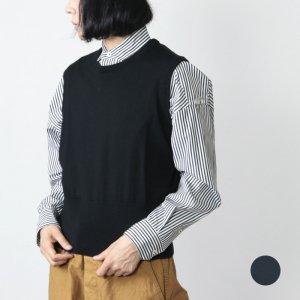 Graphpaper (グラフペーパー) High Gauge Knit Vest / ハイガーゼニットベスト