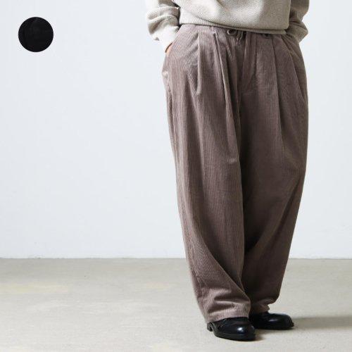 [THANK SOLD] roundabout (ラウンダバウト) Camoscio Big Balloon Pants / カモッシオビッグバルーンパンツ