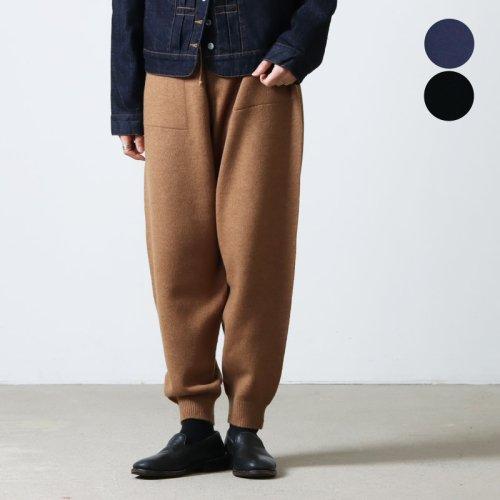 crepuscule (クレプスキュール) holegarment V/N pullover for woman / ホールガーメントVネックプルオーバー レディースサイズ