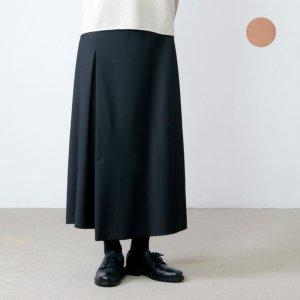 assiette (アシェット) エステルウール ストレッチAラインスカート