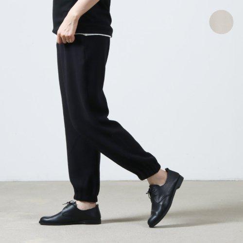THE HINOKI (ザ ヒノキ) オーガニックコットン針抜きスムースイージーパンツ